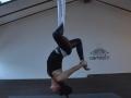 Flying yoga - Urška Lapan Kodela