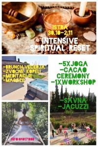 Yogahouse - intensive spiritual reset 2019