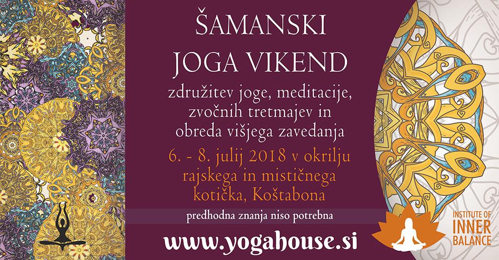 Yogahouse šamanski vikend