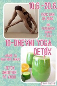 10 dnevni detox pred poletjem